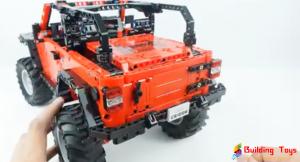 CaDA C61006 Jeep Wrangler Rubicon RC Building Block Review