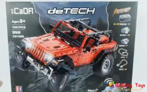 CaDA C61006 Jeep Wrangler Rubicon RC Building Block