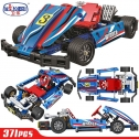 Winner 7066 1:8 Kart Car Building Blocks