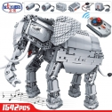 Winner 7107 RC Remote Control Elephant Building Blocks