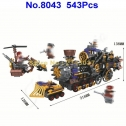 Winner 8043 Steam Train Building Blocks